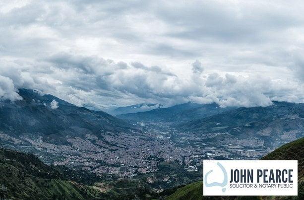 Trámite de poderes para uso en Colombia